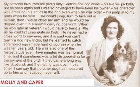 Molly and capER