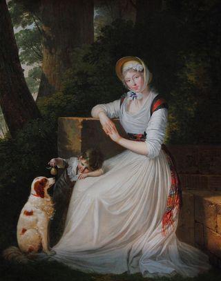 800px-Louis_Gauffier_-_Portrait_d'Elizabeth_Holland_avec_son_fils
