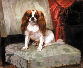 Dog-Painting-Achille-Giroux-French-1820-1854-Ready-to-Play-270x220